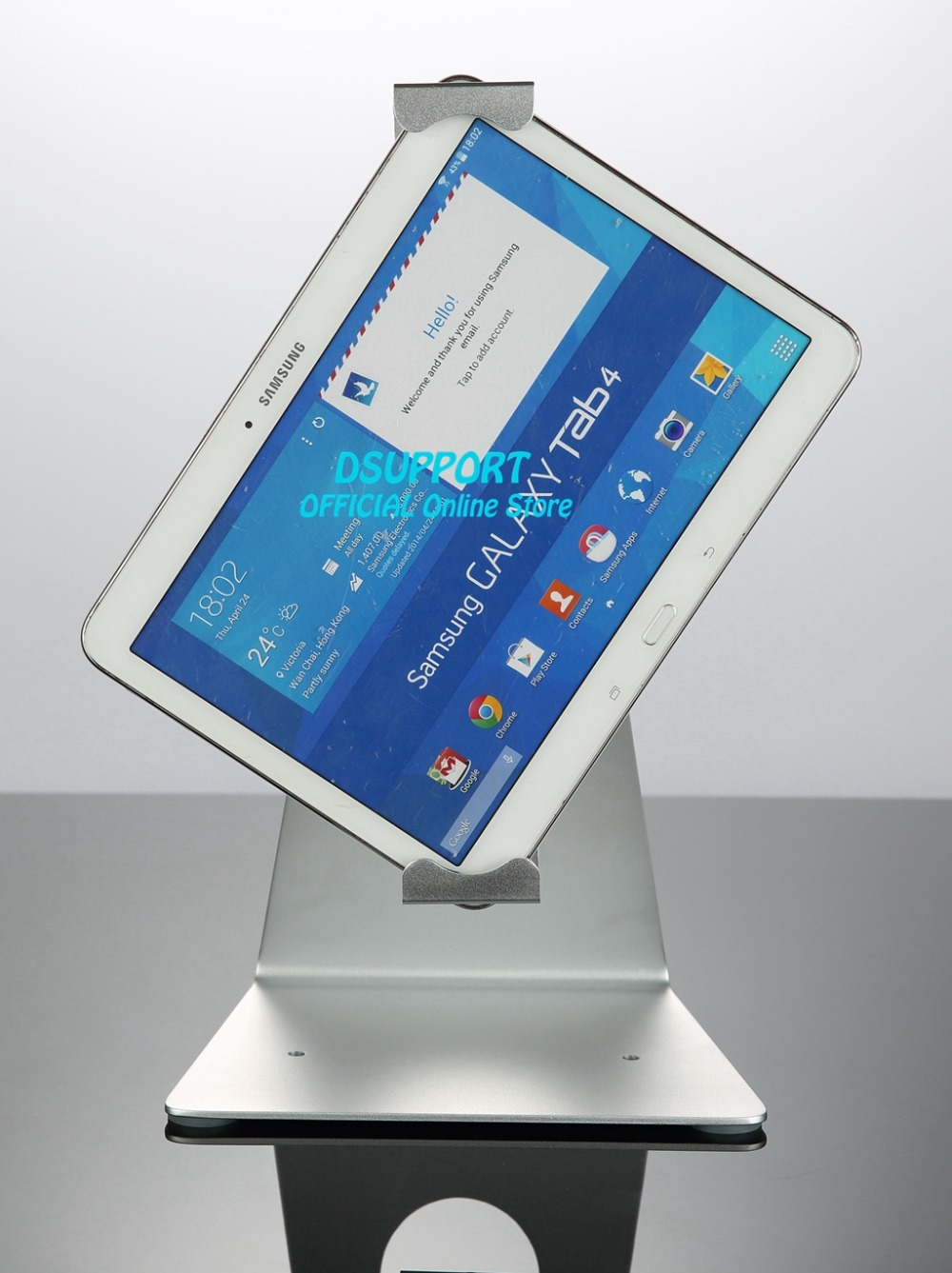 Free Shipping Universal tablet PC Full Motion Tablet stand desktop stand mounted anti-theif Lock for Tablet PC 7 to 13 inch
