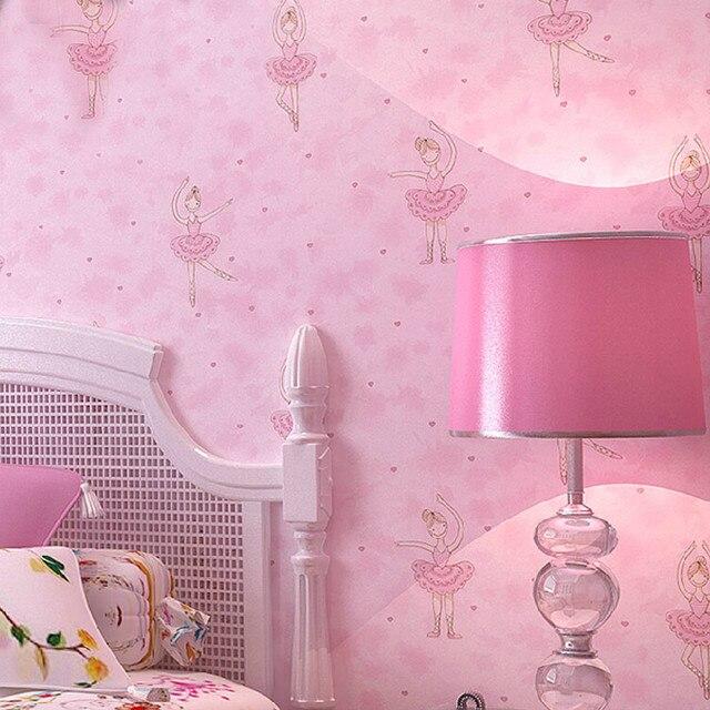 Filles Chambre Toile De Fond Mur Photo Papier Peint 3d Dessin Anime