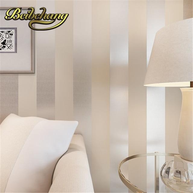 Papel De Parede Metálico Beibehang Glitter Off White E Prata Ampla Faixa  Moderno Papel De Parede