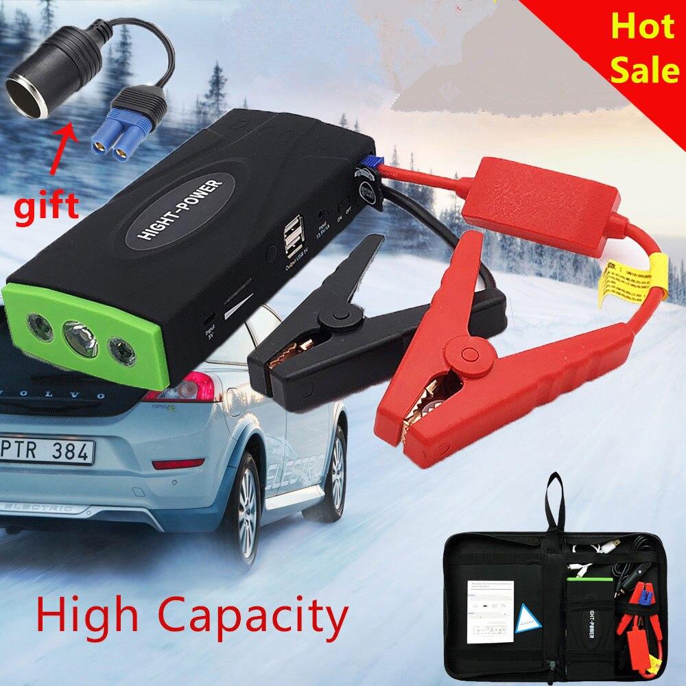 Mini emergencia coche de arranque salto de alta potencia portátil banco de potencia de batería de vehículo de 12 V 12 V cargador de arranque de energía para el coche que dispositivo
