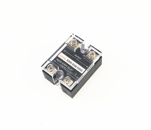 Single-phase DC solid state relay SSR-DD 100A 60VDC DC-DC normally-open ssr mgr 1 d4860 meike er normally open type single phase solid state relay 60a dc ac