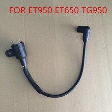 ET950 ET650 Катушка зажигания для генератора TG950 650 Вт 950 Вт 1000 Вт 1 кВт 2 такта 1E45 Генератор запасные части