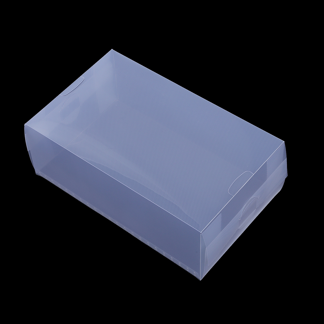 5 x Clear Plastic Mens Shoe Storage Boxes Containers Trainers
