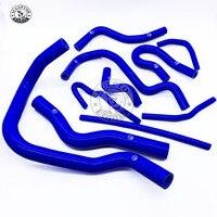 10pcs Auto Silicone Radiator Hose Kit for Honda Civic EK3 B16 B18 K8 92 98 1992 2000 Car Accessories Free shipping
