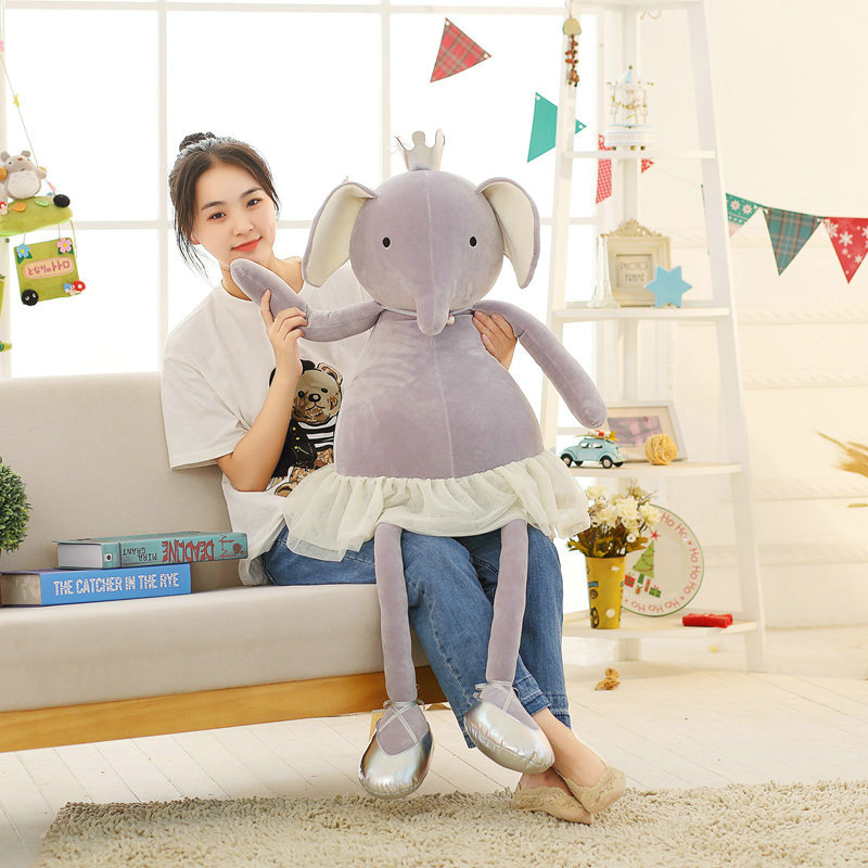 1pc 80*45cm Large Size Kawaii Ballet Pig Plush Toy Fabric Soft And Comfortable Cute Toy For The Little Girl As A Present 1pc 30cm cute descendants of the sun the same paragraph plush toy secondary group wolf king