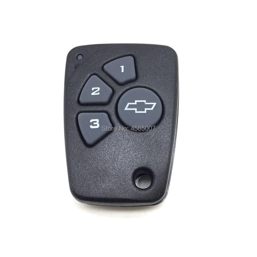 Carcasa de Repuesto para Llave de Coche para Ford 3 Botones sin Chip Interior en Blanco