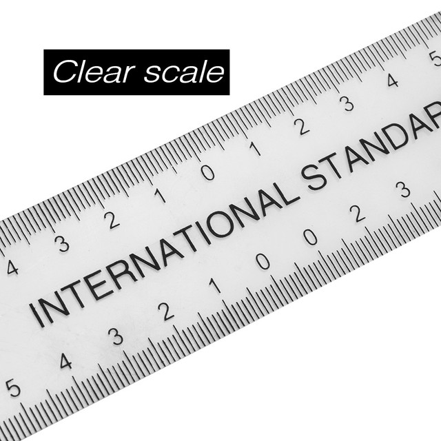 1pc Professional Semi Permanent Makeup Guide Ruler Measure Tools Eyebrow Stencil Eyebrow Template Grooming Brow Shaping Styling 4