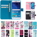 Case For Samsung Galaxy S3 S4 S5 S6 S7 edge Flip Cover Wallet TPU+ PU Leather Cases For iPhone 5 5s SE 5C 4 4s 6 6s 7 Plus 7Plus