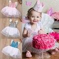 Hot Fashion Newborn Infant Baby Romper Jumpsuit Dress Sleeveless Outfits Princess Dress 0-18M