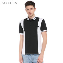 Brand Polo Shirt Men 2017 Summer New Short Sleeve Contrast Color Polo Homme Casual Slim Fit Mens Polo Shirt Pocket Camisas Polo