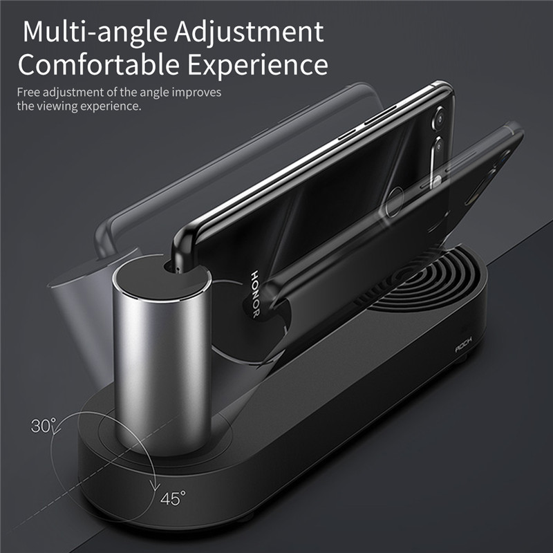 Image 4 - ROCK HDMI Adapter Cloud on Type c Docking Station Type C to 3.0 HUB for Huawei P30 Mate P20 Pro 5in1 USB C HUB phone to TV-in USB Hubs from Computer & Office