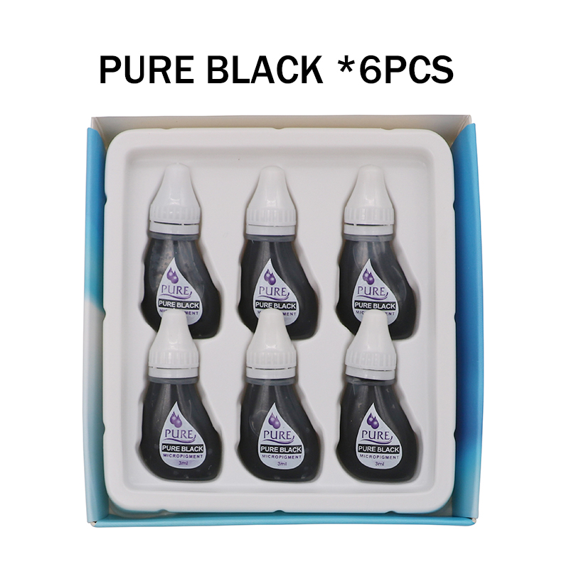 Image 5 - 6PCS Original USA Biotouch Pigment Get Pure Confidence Pure Micropigment Permanent Makeup Tattoo Inks Eyebrow Eyeliner Lip-in Tattoo Inks from Beauty & Health