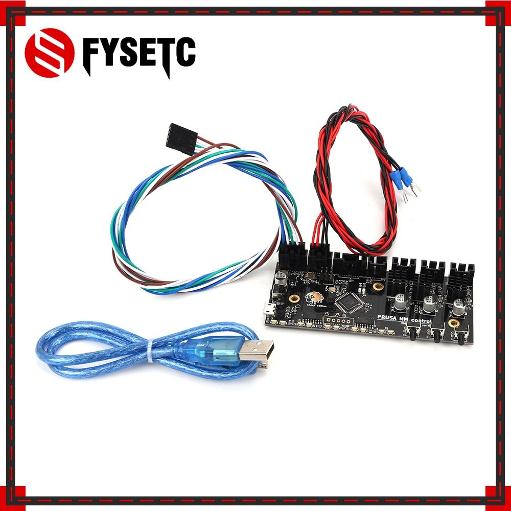 placa de controle i3 mk3 2 0mm placa de controle tmc2130 chip prusa mmu2 com cabo