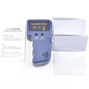 Image 2 - Handheld 125KHz RFID Duplicator Copier Writer Programmer Reader  EM4305 T5577 Rewritable ID Keyfobs Tags Card