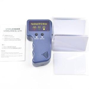 Image 2 - Handheld 125KHz RFID Duplizierer Kopierer Programmierer für EM4305 T5577 und kompatibel chip