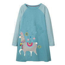 Kids Baby Girl Dress Clothes Long Sleeve