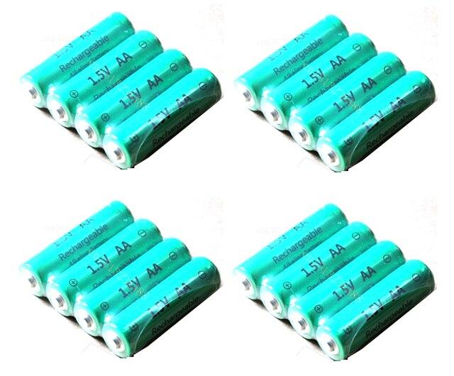 Rechargeable Alkaline Batteries >> 16pcs Lot Aa 3000mah Znmn 1 5v Aa Rechargeable Alkaline Battery Cell