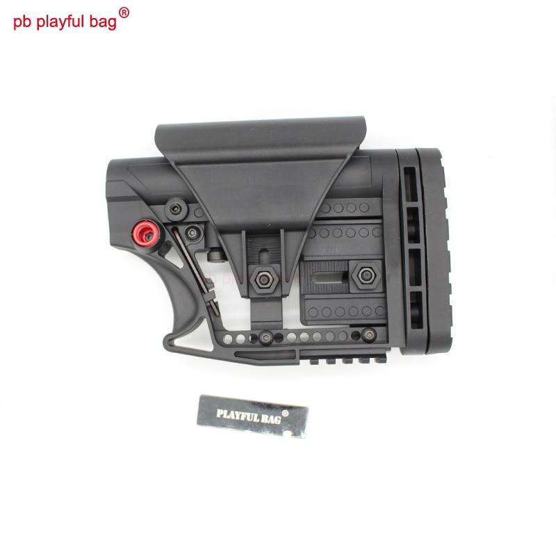 Sports de plein air CS BD556 Jinming TTM jouet pistolet à balle gel tactique blaster produit spécial sniping support arrière Nylon tailing KI26