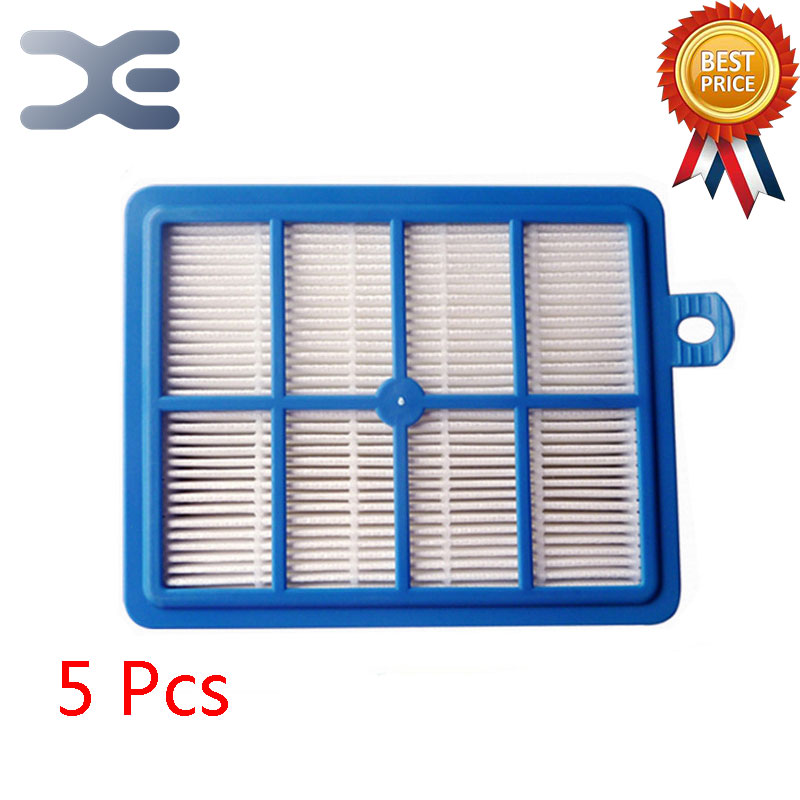 5Pcs Lot High Quality Compatible With For Philips Vacuum Cleaner Accessories Filter FC9088 / 9083/9087 Outlet Filter