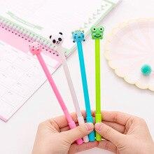 40 pcs Cute inflatable animal neutral pen 0.5 black student neutral pen