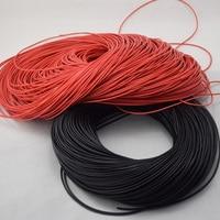 20 AWG 100 м Калибр силиконовые провода проводки гибкие многожильные медные кабели для RC