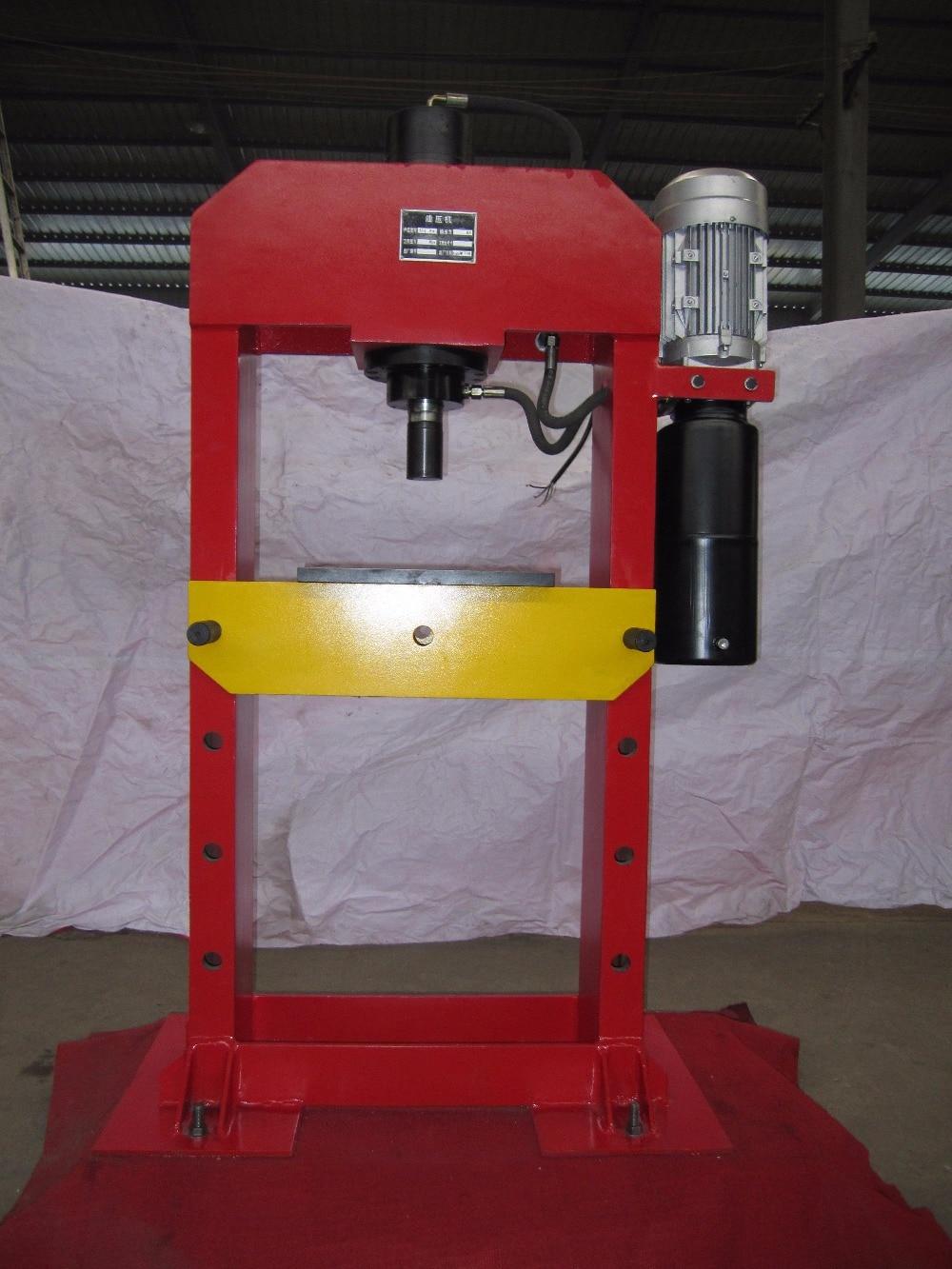YJL 20 electric hydraulic press machine shop machinery tools