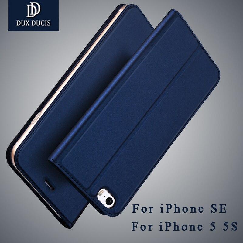Pour iPhone 5S Cas De Luxe PU Cuir Flip Cas Pour iPhone 5 Cas 5S Coque iPhone SE Stand De Couverture De Protection couverture du livre Sur Téléphone