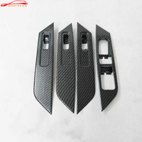 For Car Styling Accessories Skoda Kodiaq Model 2017 2018 Abs Chrome Interior Window Rises Cover Door