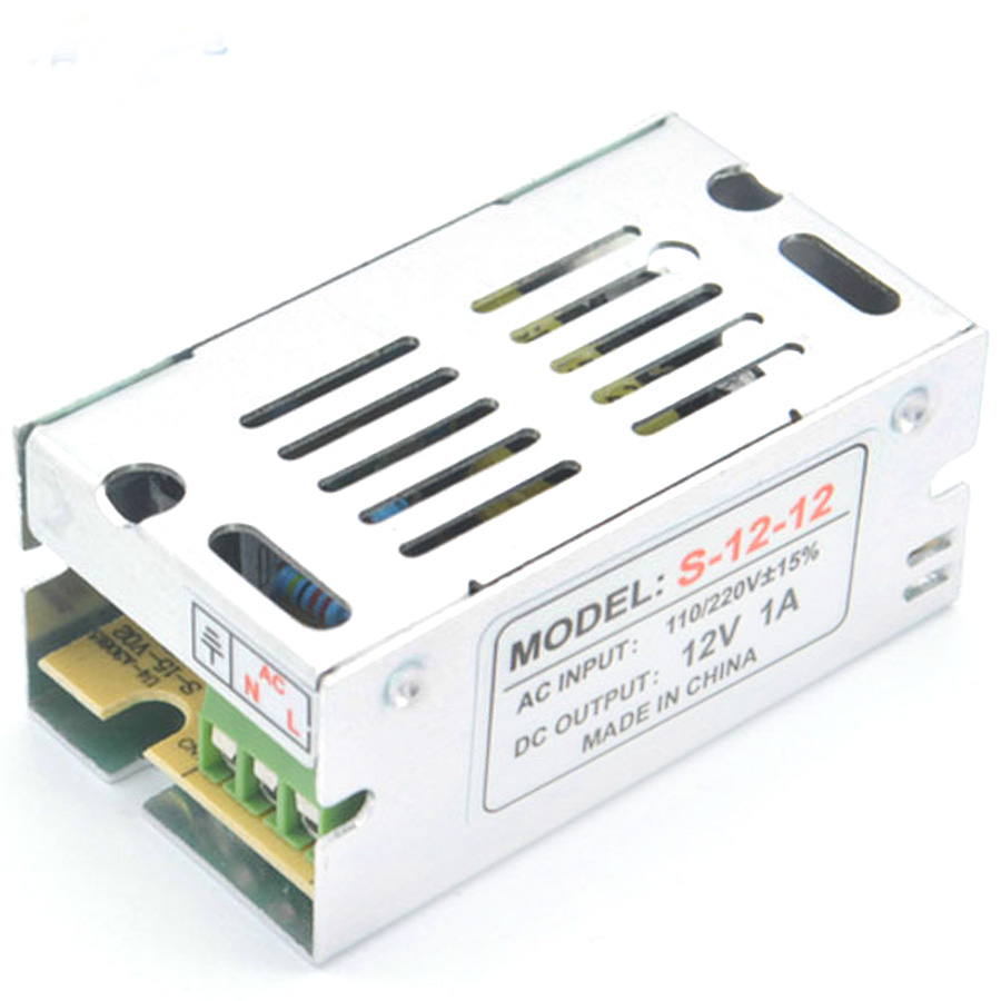 <font><b>12</b></font> v volt <font><b>Power</b></font> Adapter <font><b>Supply</b></font> Transform Switching <font><b>12V</b></font> 1A 2A 3A for led strip AC 110V-265V 1 <font><b>Amp</b></font> - 60 <font><b>Amp</b></font> <font><b>power</b></font> <font><b>supply</b></font> charger image