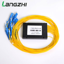 LANGZHI 1x16 PLC Fiber Optical Cble Splitter Box Type Cassette Cable Branching Device Wholesale Price