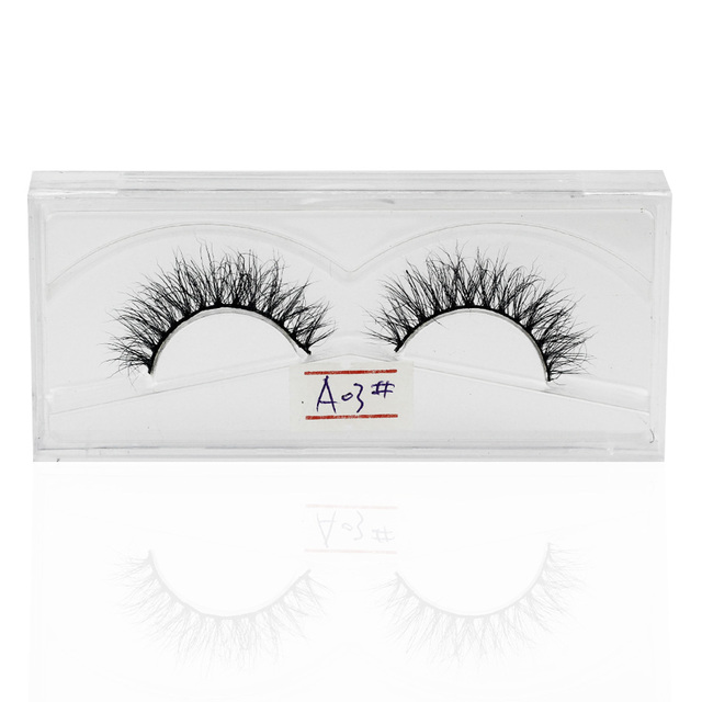 Genailish Mink Lashes Real Upper Mink Eyelashes