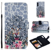 For Samsung Galaxy A7 2018 Case Leather Wallet Flip Cover Phone Case