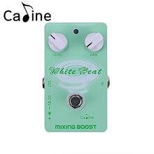 Caline CP-29 Guitar Effect Pedal Mixing Boost White Heat True Bypass Design