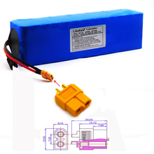 LiitoKala 48V 10ah battery Lithium Battery Pack 2000W electric bicycle Built in 50A BMS XT60 Plug+4.6V 2A charger