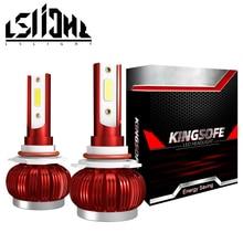 LSlight חדש עזיבות 6000K 8000LM LED H7 H11 H1 H9 9005 HB3 9006 HB4 HB2 H4 led פנס הנורה רכב אור 12V אמפולה אוטומטי מנורות