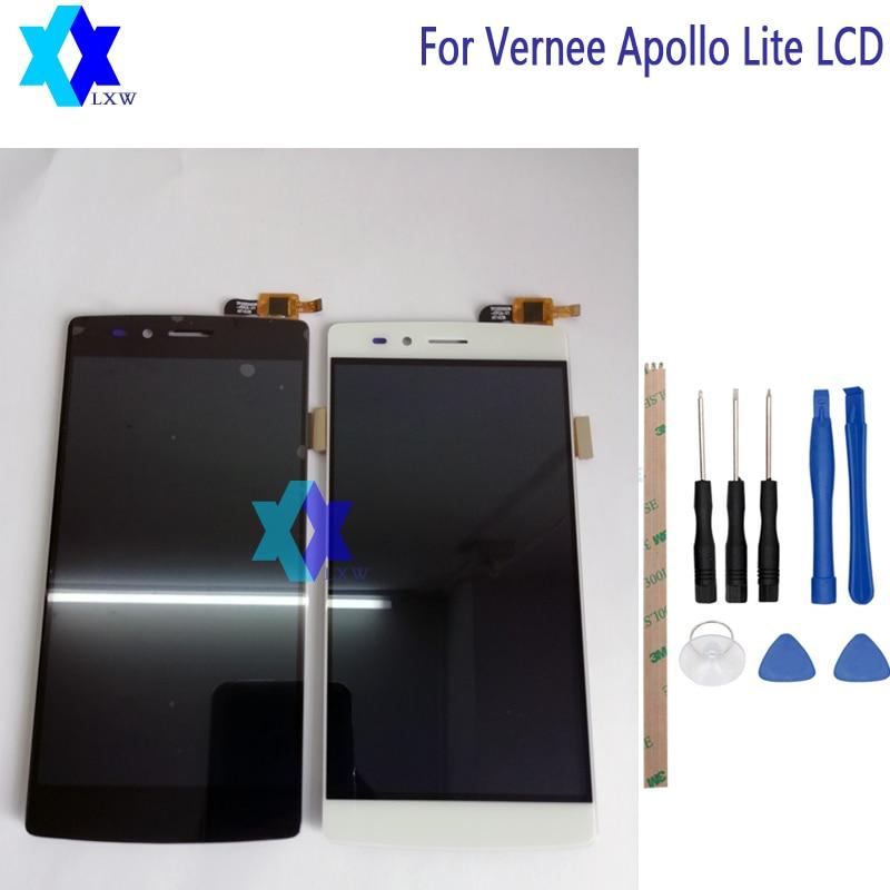 Pour D'origine Vernee Apollo Lite LCD Display + Écran Tactile Panneau Numérique Pièces De Rechange Assemblée 5.5 pouce 1920x1080 P