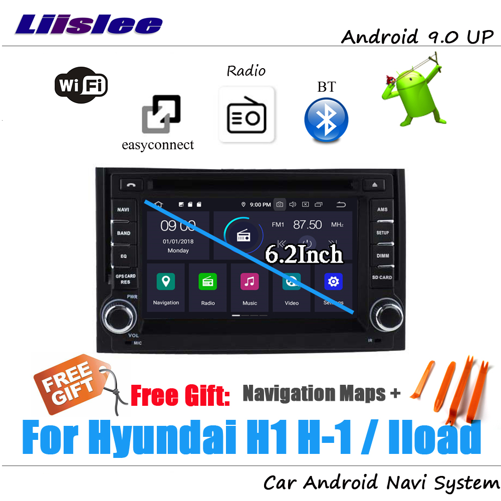 Liislee Android 9 4 32G For Hyundai H1 H 1 Iload 2007 2012 Stereo Car Video