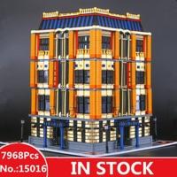H&HXY IN STOCK 2017 15016 7968pcs MOC Creative The Apple University Set Building Blocks Bricks lepin DIY Toys
