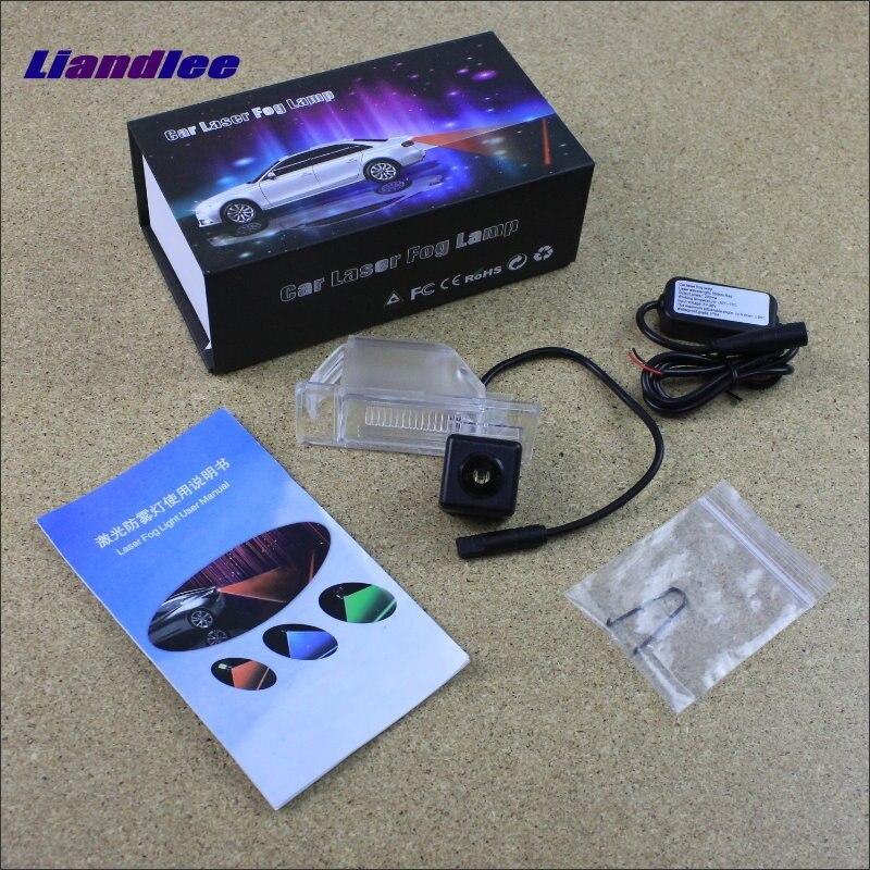 Liandlee Car Light For Nissan Qashqai J10 J11/Dualis Laser Shoot Lamp Prevent Collision Warning Fog Tail Decorative Light high quality chrome rear trunk streamer for nissan qashqai dualis 07 09 free shipping