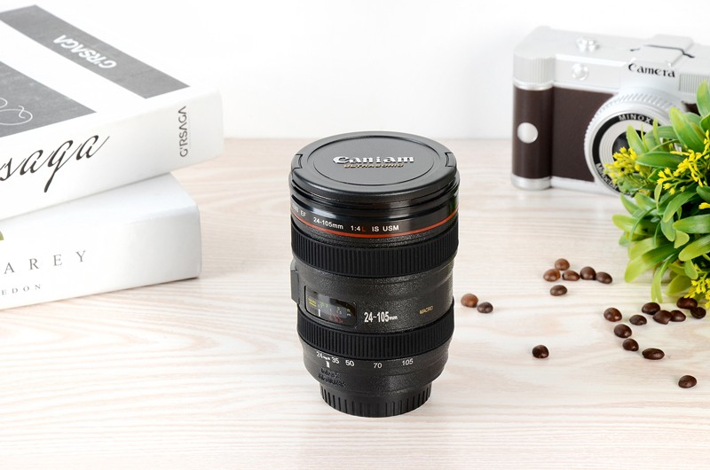 HTB1z4ZWLXXXXXarXpXXq6xXFXXXG - Caniam SLR Camera Lens 24-105mm 1:1 Scale Plastic Coffee Tea MUG 400ML Creative Cups And Mugs With Lid M102 MUG-09