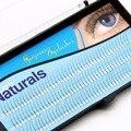 Aglomerado Cílios NAVINA 2 Flairs Tipo V Preto 0.1mm C onda 8/10/12mm Natureza Suave Extensão Dos Cílios falsos Cílios ferramenta Maquiagem