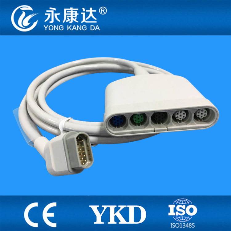 Free Shipping For new type Draeger ECG Truck cable 16Pin