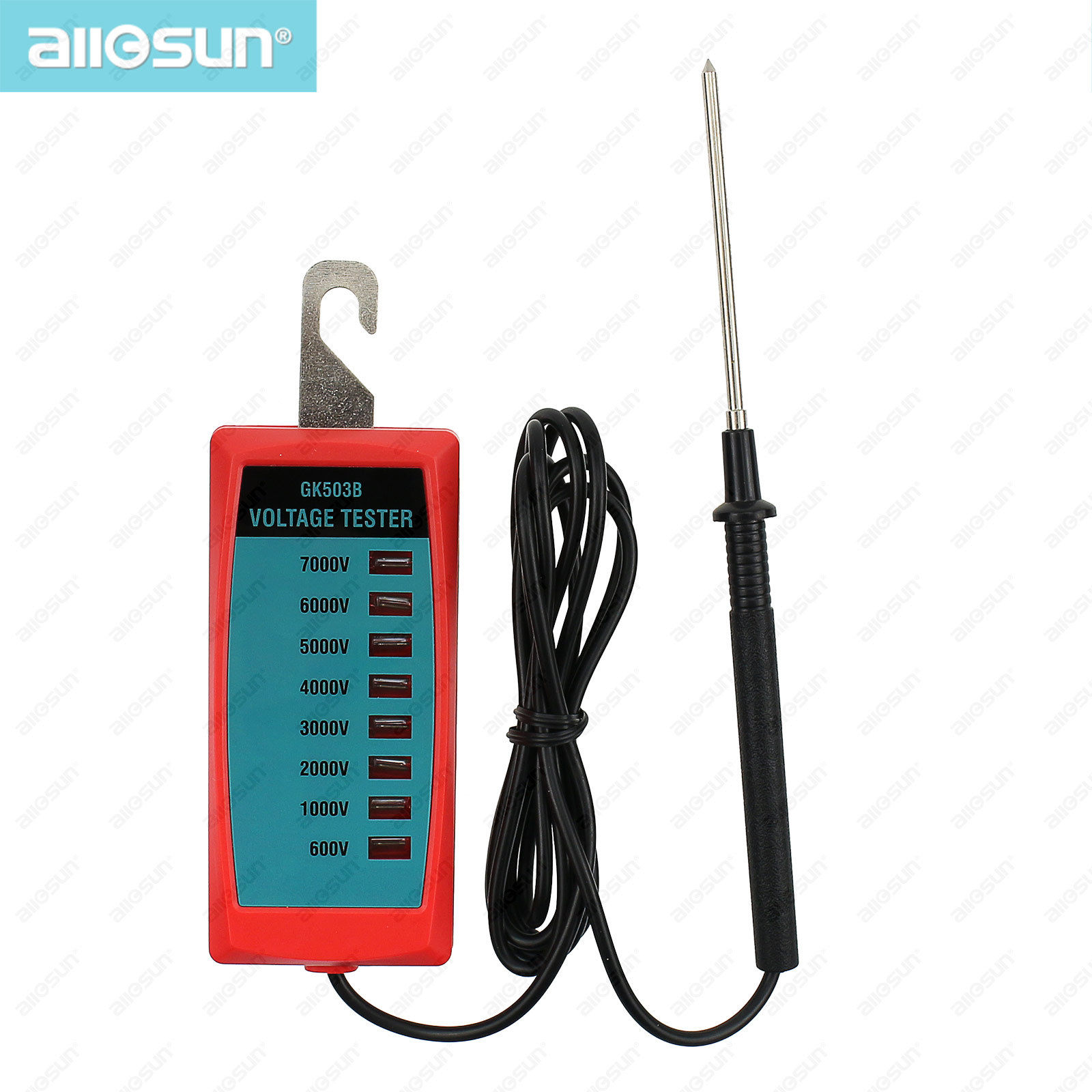 All In One Electrical Testers : All sun gk b electric fence voltage tester v to
