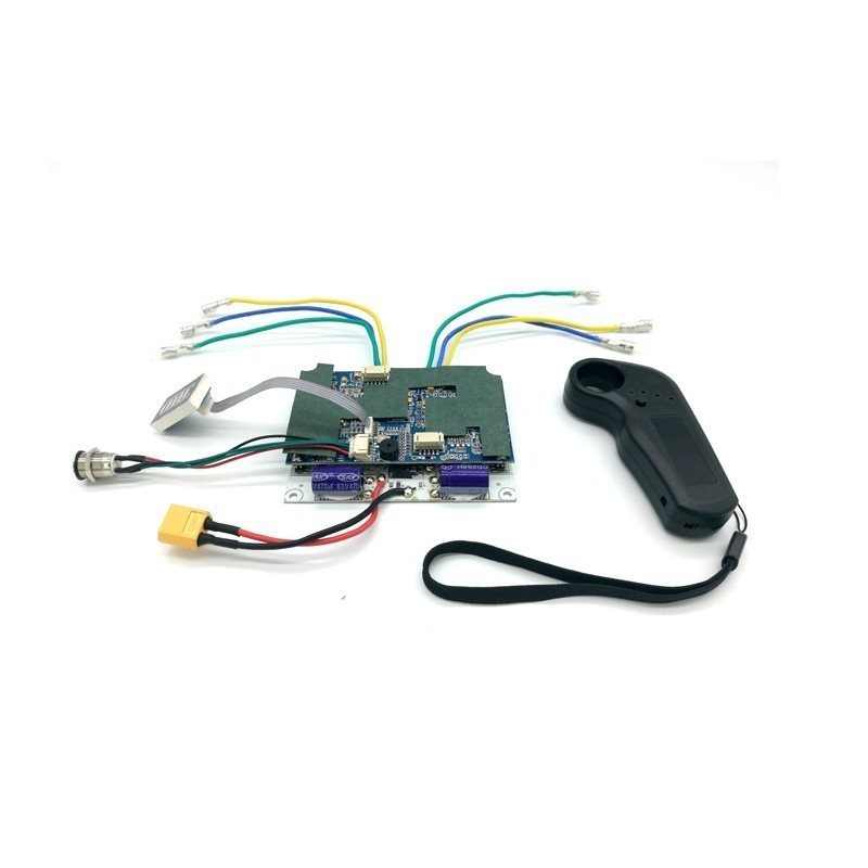 New Arrival Dual Drive Electric Skateboard Belt Motor Kits ESC And Remote Electric Lonboard Control Board 24v 36v