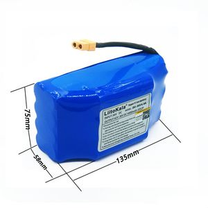 Image 4 - NEW 36V rechargeable li ion battery pack 4400mah 4.4AH lithium ion cell for electric self balance scooter hoverboard unicycle