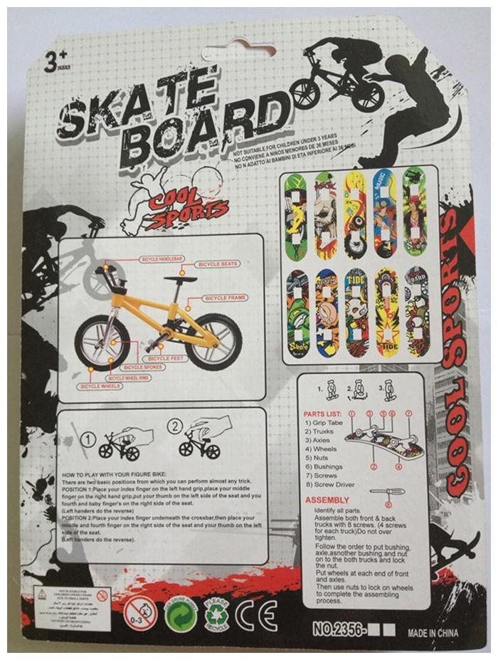 накладка палец скейтборд и велосипед игрушки для детей подарок мини-палец-BMX на велосипед/велосипед палец скейтборд самокат