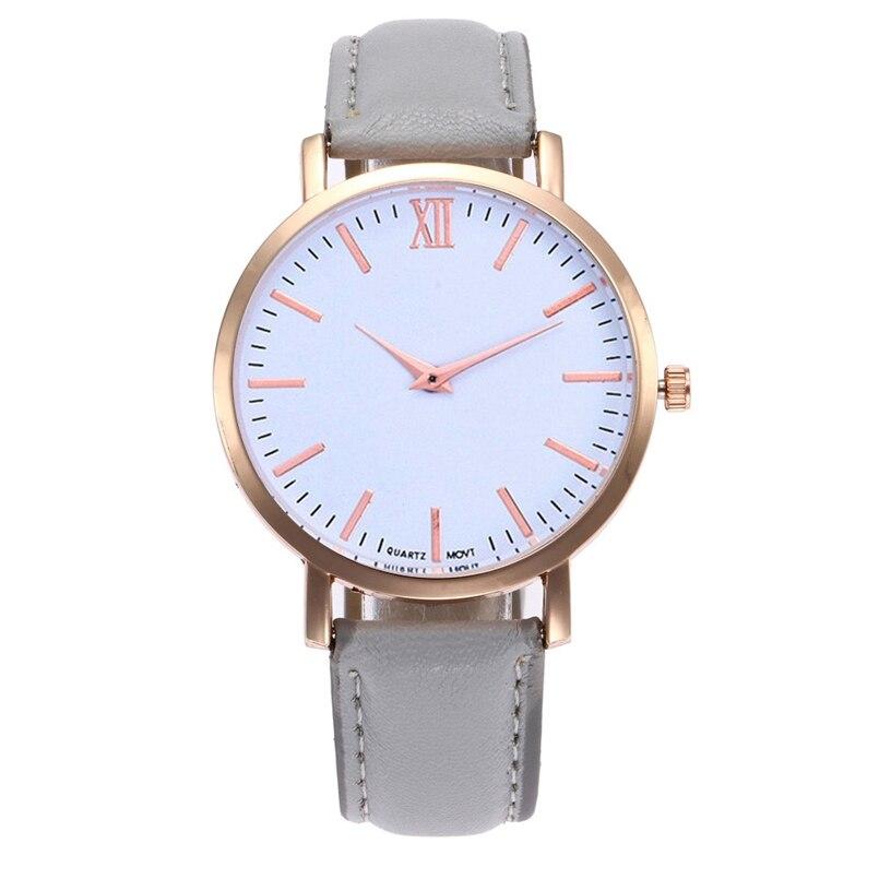 New Arrive 2018 Women Leather Simple Business Fashion Quartz Wrist Watches dropship 08