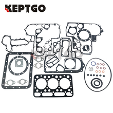 New Diesel Engine Cylinder Head Full Gasket Kit Set for Kubota D1402 Engine 15814-03310 07916-29635 цена