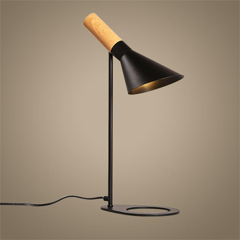 Modern Minimalist LED Desk Lamps Bedside Book Reading Study Office Work Table Lights Nordic Adjustable E27 Iron Art Lighting modern table lamps bird metal art design reading light bedroom bedside lights lampshade home lighting led nordic lamp table