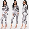 New Spring Causal Velvet 2 Piece(Hoodies+ Pant) Women's Sporting Suit Sweatpants Suits Hooded Pullovers Ladies Sportswear Sets